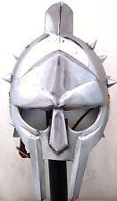 Gladiator Helmet-- General Maximus Decimus Meridius- Tamaño Real para Llevar