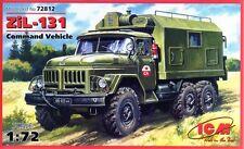 Vehículo de comando ZIL 131 (Naciones Unidas, soviético, alemana, polaca MKGS) 1/72 ICM