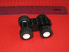 Lego Technic non Electric Motor + 4 Wheels & Tyres - Black or Grey