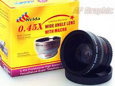 Z4a 0.45X Wide Angle Lens w/ Macro for Sony A6300 NEX-5R NEX-5T w/ 16-50mm Lens