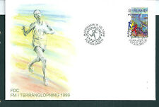 Aland 1999 Cross Country Championship on unaddressed post office first day cover