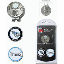 Tennessee Titans Magnet Hat Clip with 2 doubled sided ball markers by Team Golf