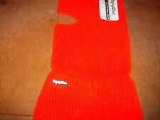 "RefrigiWear knit headwear Open Hole Mask /0047R Safety ORANGE 16"" long balaclava"
