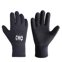 3MM Black Neoprene Wetsuit Gloves Kayak Scuba Diving Surfing Snorkeling Swimming