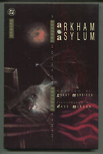 Arkham Asylum - Grant Morrison/Dave McKean - Dc Hardcover 1989 (Grade 9.2)