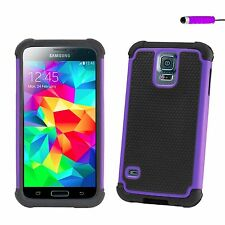 Dual-Layer Shockproof Heavy Duty Case Cover for Samsung Galaxy S Phones