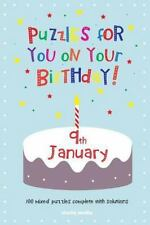 Puzzles for You on Your Birthday - 9th January by Clarity Media (2014,...