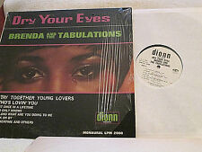 BRENDA and the TABULATIONS DRY YOUR EYES '67 MONO DJ COPY! SHRINK EX+!