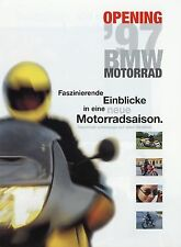 Prospetto MOTO BMW opening 1997 K 1100 LT RS R 1100 RT R 80 GS BASIC f650