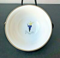 "Pottery Barn Christmas Reindeer Dasher 6 1/2"" Cereal / Soup Bowl Japan"