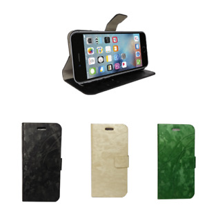 fashion case with card slot stand wallet case for Apple iPhone 6/6s UK Seller