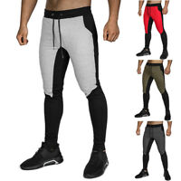 Sweatpants Men's Workout Athletic Joggers Trousers with Pockets Slim fit Bottom