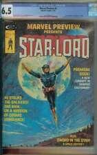 Marvel Preview #4 CGC 6.5 Origin & 1st App Star-Lord