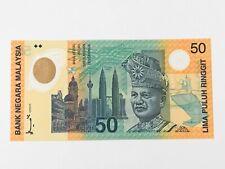 """Malaysia, Bank Negara """"""""Commemorative"""""""", 50 Ringgit KNB49 1998 # KL/98 201 306"""