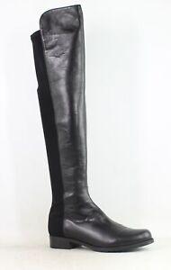 Stuart Weitzman Womens 5050 Black Nappa Fashion Boots Size 7.5 (1633685)