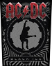 < AC/DC - BLACK ICE - OFFICIAL GIANT SEW-ON BACKPATCH - acdc patch