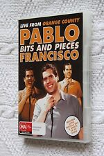 PABLO FRANCISCO BITS AND PIECES- LIVE FROM ORANGE COUNTY, DVD+ CD, LIKE NEW