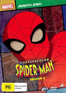 THE SPECTACULAR SPIDER-MAN: SEASON 2 (MARVEL ANIMATED RANGE) (2009) [NEW DVD]