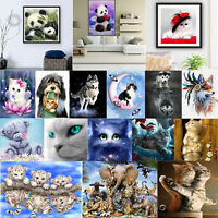 Cat Dog Animals Diamond Painting DIY Embroidery Cross Stitch Kit Home Room Decor