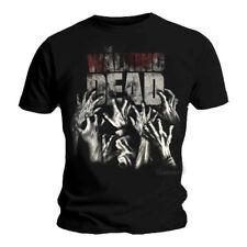 Official T Shirt THE WALKING DEAD Logo HANDS REACHING Zombie XXL