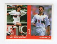 figurina DS CALCIATORI WORLD CUP FRANCE 98 NUMERO 274 U.S.A. RADOSAVLJEVIC, W..