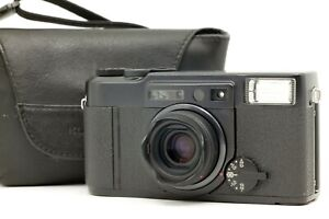 【Near MINT w/ Case】 Fuji Fujifilm KLASSE W Black 35mm Point & Shoot Camera JAPAN