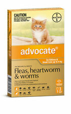 Advocate Flea and Worm Treatment for Cats 4kg (3 Pack)