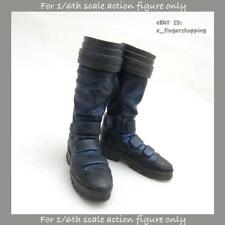 Hot Toys The Amazing Spider-Man 2 ELECTRO Figure 1/6 BLUISH BLACK BOOTS w PEGS