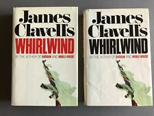"""""""WHIRLWIND"""" by James Clavell- 2 Volumes"""