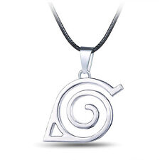 HOT Anime Naruto: Leaf Symbol Necklace Cosplay Costume Accessory Toy Gift