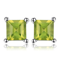 JewelryPalace Original Peridot Ohrstecker Ohrring 925 Sterling Ssilber Modern