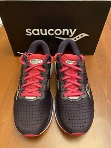 Saucony Women's Guide 13 Dusk/Berry B Width NEW Ships Free SRP $130