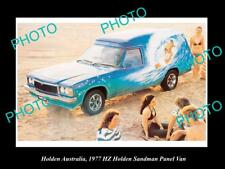 LARGE HISTORIC PHOTO OF GM HOLDEN, THE 1977 HZ HOLDEN SANDMAN PRESS PHOTO 1
