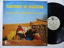 Payita Sola Guillermo de la Roca Canciones de Argentina ALVARES C 487