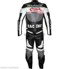 Tute in pelle e altri tessuti grigi donna per motociclista