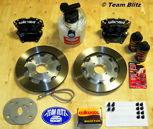 Ford Capri 300MM Big Brake Kit Wilwood Rotors & Calipers Everything Is Included