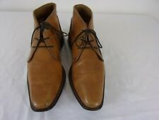 Giorgio Brutini Leather Ankle Boots Size: 9M Camel Brown *Made in India*