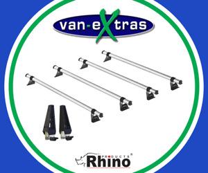 Rhino Products 4 Delta Bars for a Vauxhall Vivaro 2014-2019 w/ Load Stops