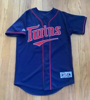 Minnesota Twins Francisco Liriano Authentic Majestic Jersey Size S MINT Rare