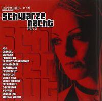 SCHWARZE NACHT 4 CD MIT VIRTUAL VICTIM UVM. NEU