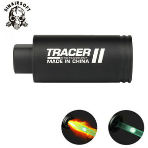 Tactical Airsoft Gun Lighter S Pistol Rifle LED Toy Auto Tracer Spitfire effect