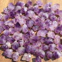 Natural amethyst quartz cluster crystal specimen Mineral point healing 50g