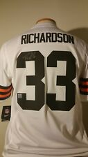 Trent Richardson Browns Autographed Signed Nike On Field Jersey New W Tag