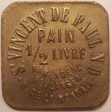 Saint-Vincent-De-Paul (40), 1/2 livre de pain, Ramondec Boulanger, rue Monnaie !
