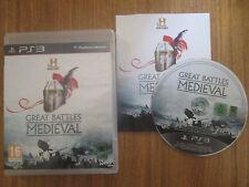 Great Battle Medieval ~~ Jeu PS3 Complet