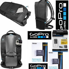 GOPRO  BACKPACK AWOPB-001 + 2 AABAT-001 BATTERIES +CHARGER FOR GOPRO HERO5 BLACK