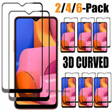 For Samsung Galaxy A20S Premium Real Tempered Glass Full Cover Screen Protector