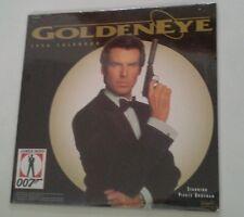 Sealed James Bond 007 1996 Calendar  Golden Eye