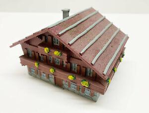 Alpenhaus Berghaus Resin Cast N Gauge Top Quality