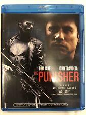The Punisher (Blu-ray + UV, 2004) Tom Jane, John Travolta, Rebecca Stamos NEW